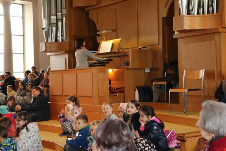 Kinderkonzert Paulus Orgel