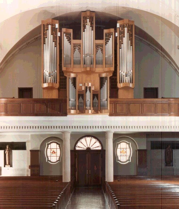 Andreas Kirche Orgel Gossau