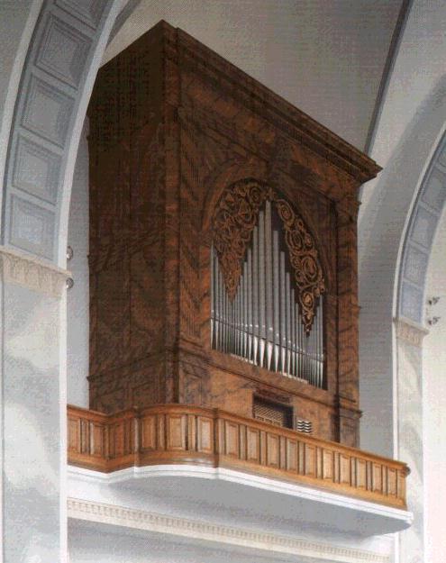 Andreaskirche Chororgel Gossau