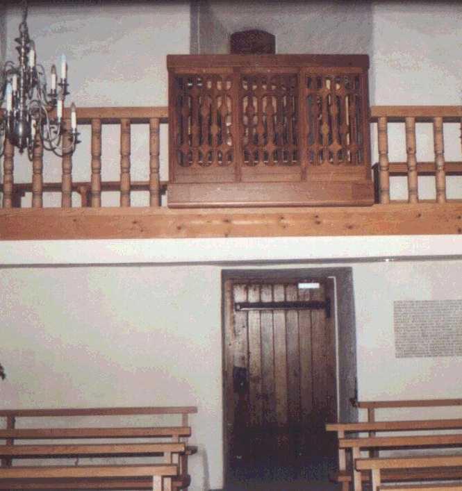 Schloss Oberberg Orgel Gossau